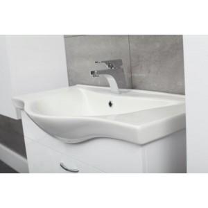 Umywalka + szafka PRESTIGE biała